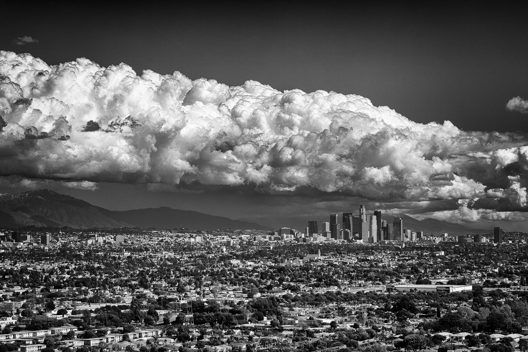 Storm Clouds Los Angeles